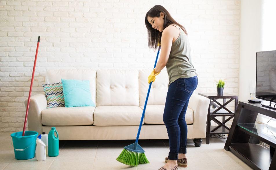 Cómo limpiar la casa? 10 trucos para hacerlo más fácil | Homecenter